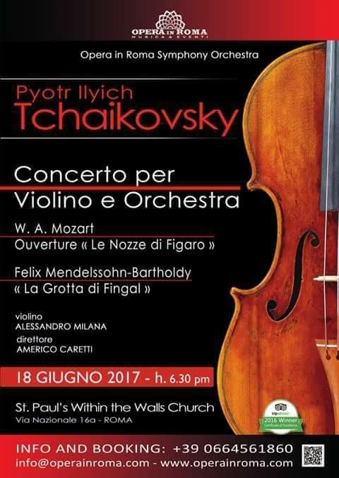 Opera in Roma Symphonic Season 2017