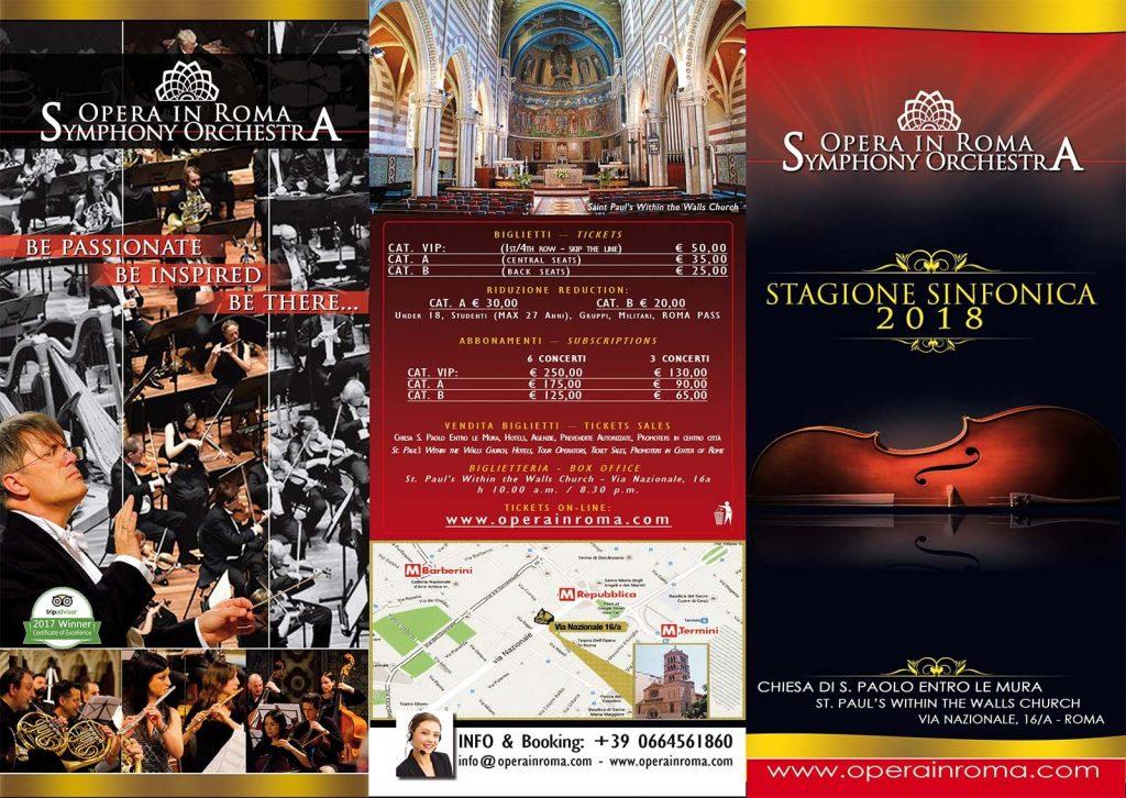 Opera in Roma Symphony Season 2018